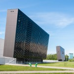 Nacionalinė meno galerija metalo konstrukcijos Konstitucijos pr. Vilniuje