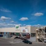 Prekybos centro metalo konstrukcijos Liepkalnio g. Vilniuje