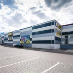 Prekybos centro metalo konstrukcijos Žemynos g. Vilniuje